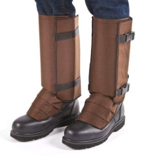 Cocoa Brown Gaiters