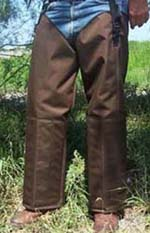 Brown Snake Proof Chaps