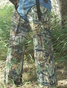 Mossy Oak Up to the Knee Protection Chaps --